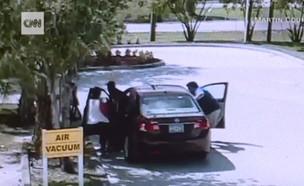 גנב רכב בורח עם מכונית ובתוכה תינוק