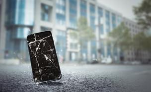 סמארטפון, גובה, שבר, מסך (צילום: m.mphoto, ShutterStock)