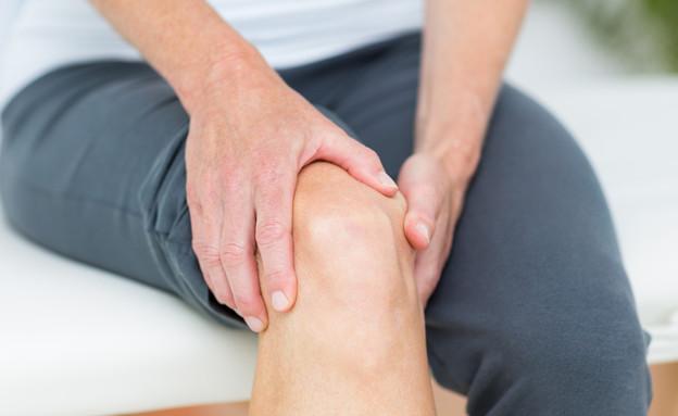 כאבים בברך (צילום: ESB Professional, shutterstock)