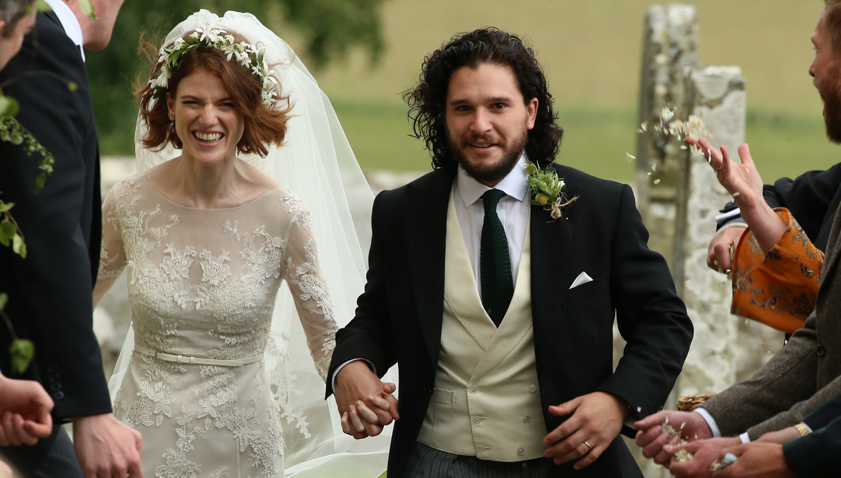 החתונה של קית הרינגטון ורוז לזלי
