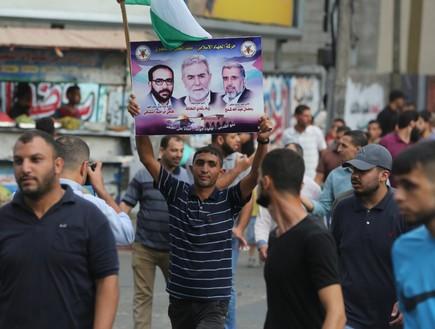 מפגן הכוח של הג'יהאד האסלאמי