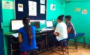 כיתת מחשבים (צילום: עמרי ואורית גלפרין)