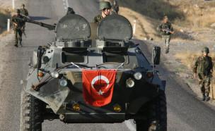 כוחות צבא טורקיה באזור הכורדי. ארכיון (צילום: רויטרס)