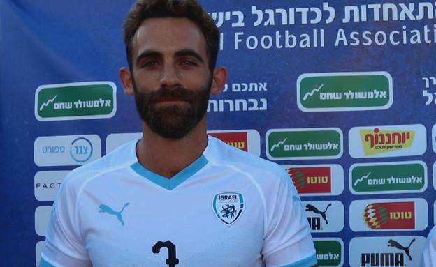 צח שחרור. ממקימי הנבחרת לקטועי רגליים (צילום: ההתאחדות לכדורגל בישראל)