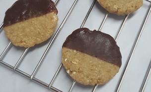 עוגיות שיבולת שועל ללא אפייה  (צילום: רון יוחננוב, אוכל טוב)