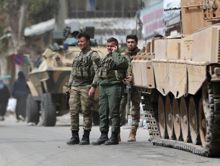 חיילים טורקיים בסוריה