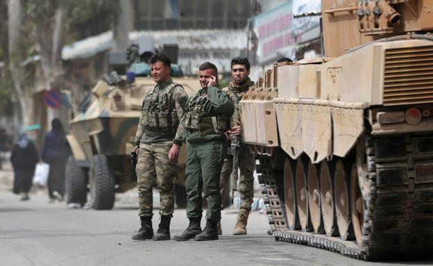 חיילים טורקיים בסוריה (צילום: רויטרס)