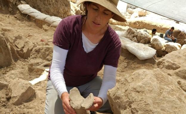 האתר הארכיאולוגי תל שילה (צילום: דוברות מתפ״ש)