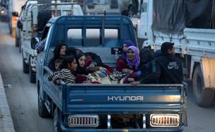 פליטים כורדים (צילום: רויטרס)