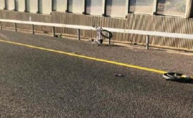 האופניים עליהם רכב הילד שנהרג