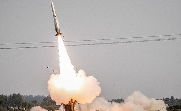 זרוע הטילים משמרות המהפיכה (צילום: Tasnimnews_EN@Twitter)