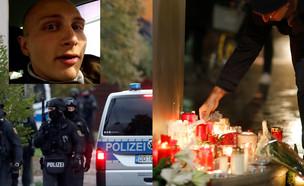 אירוע ירי בבית כנסת בגרמניה (עיבוד: רויטרס)