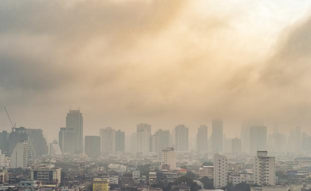 זיהום אוויר (צילום:  nEwyyy, shutterstock)