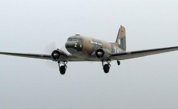מטוס מסוג זה בפעולה (צילום: CWHM@Twitter)