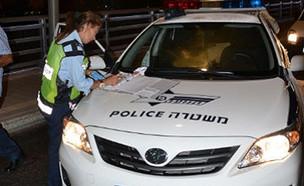 בדיקת הינשוף הציגה ממצאים חריגים (צילום: דב קנטור ועופר עבודי, משטרת ישראל)