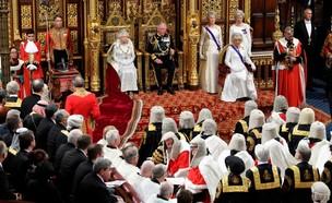 המלכה אליזבת בנאום בפרלמנט על הברקזיט (צילום: סקיי ניוז)