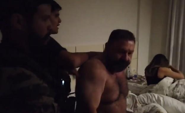 מעצר בדרום אמריקה (צילום: youtube/Repórter Beto Ribeiro)