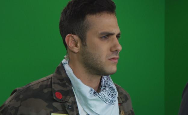 קווין רובין שהפך לאחד הכוכבים הכי גדולים בישראל (צילום: החדשות )