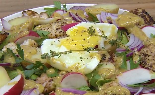סלט ניסואז (וידאו AVI: מבשלים עם קשת - רותי רוסו)