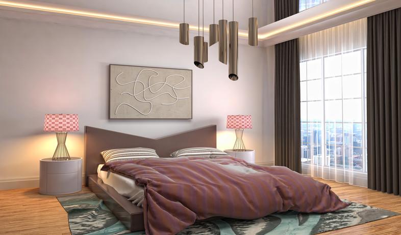 חדר שינה (צילום:  Interior Design, shutterstock)