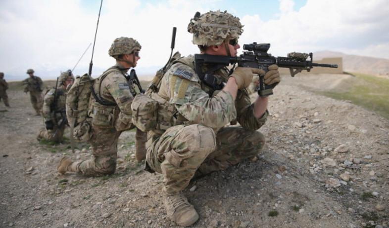 כוחות קומנדו בשטח (צילום: Scott Olson, GettyImages IL)