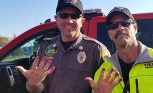 כבאי נורת' דיוויס (צילום: פייסבוק North Davis Fire District)