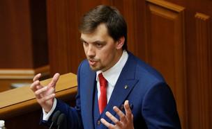 ראש ממשלת אוקראינה אלכסיי הונצ'ארוק (צילום: רויטרס)