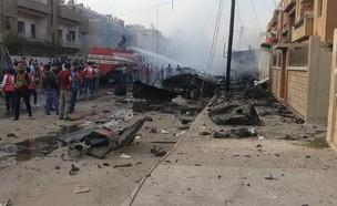 הפגזה טורקית בסוריה (צילום: npa)