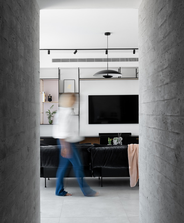 דירה בתל אביב, ג, עיצוב אנה גולדברג