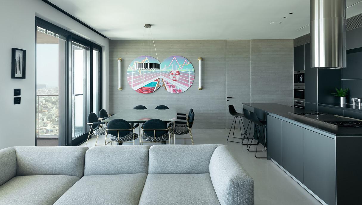 דירה בתל אביב, עיצוב אושיר אסבן - 10