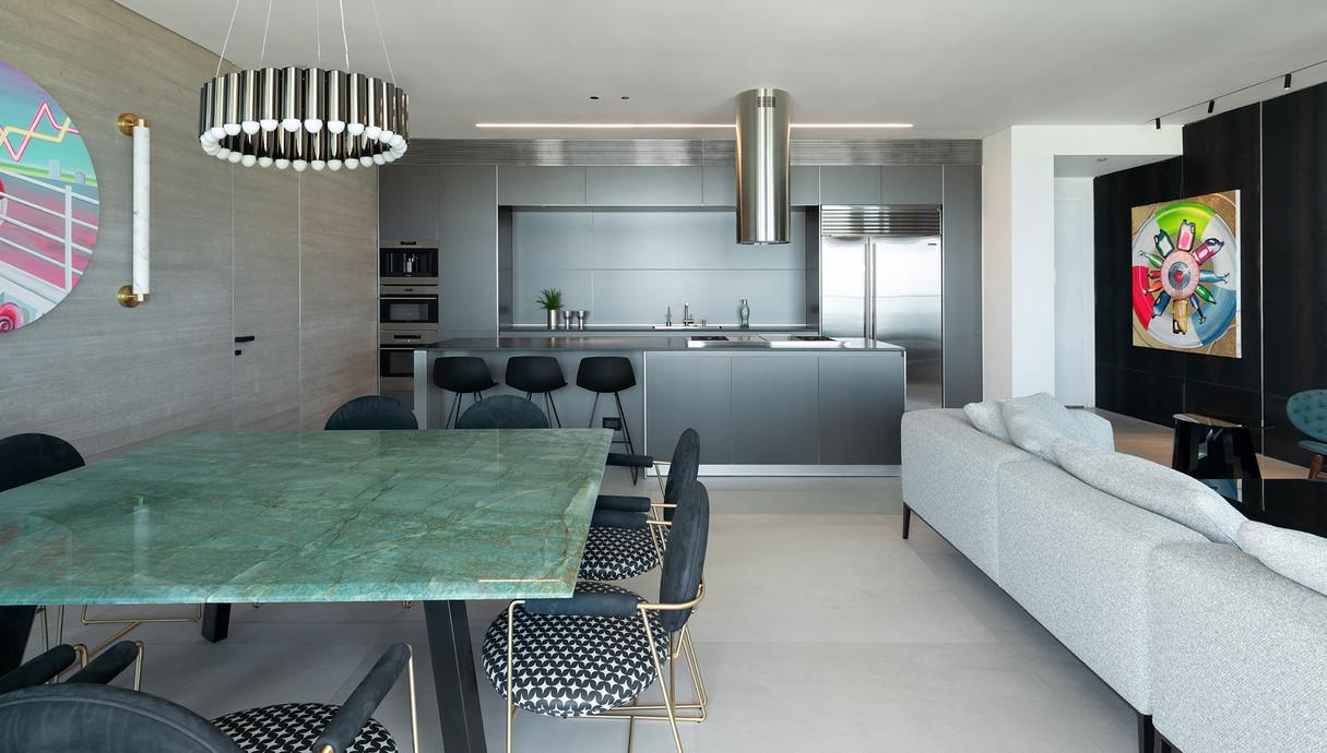 דירה בתל אביב, עיצוב אושיר אסבן - 1