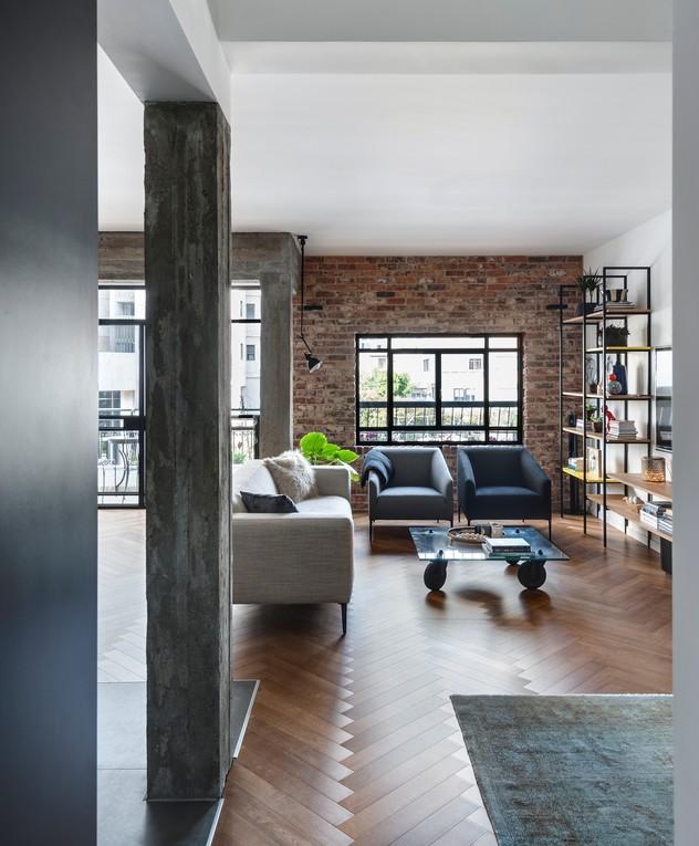 דירה בתל אביב, ג, עיצוב שלומית גליקס - 22