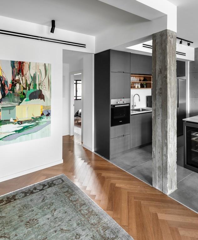 דירה בתל אביב, ג, עיצוב שלומית גליקס - 20