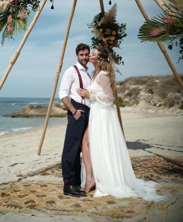 מיכל אנסקי ואייל אמיר התחתנו
