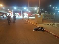 סוכל פיגוע דקירה במחסום - המחבל חוסל