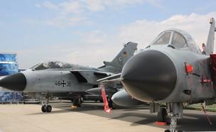 יכולת לנשיאת נשק גרעיני. מטוס קרב טורנדו (צילום: שי לוי)
