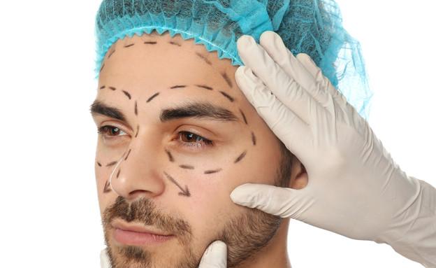 ניתוח פלסטי לגבר (צילום: New Africa , ShutterStock)