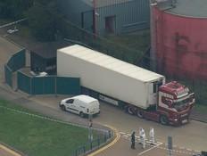 חשד לרצח המוני: 39 גופות אותרו במשאית ממזרח