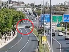 תיעוד: מרוץ המכוניות בירושלים שהסתיים בתאונה קטלנית