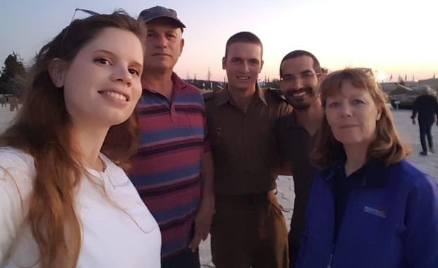 """משפחת קליק-מילר (צילום: דובר צה""""ל)"""