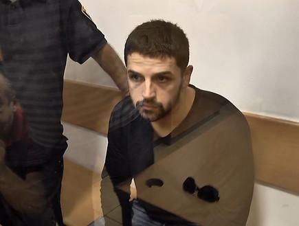 מקסים טל החשוד ברצח אשתו מריה (צילום: החדשות 12)
