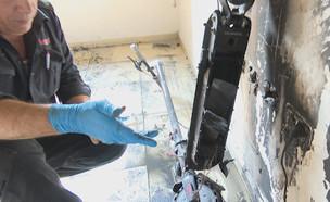 שריפה פרצה בדירה בגלל פיצוץ בסוללה של קורקינט חשמל