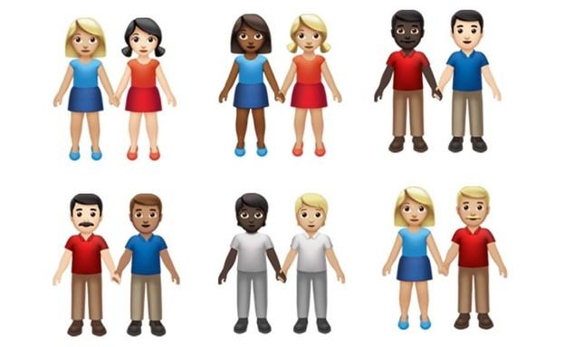 אימוג'י חדשים באייפון (צילום: מתוך emojipedia)