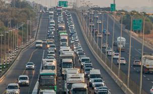 פרויקט נתיב פלוס של משרד התחבורה (צילום: פלאש 90)