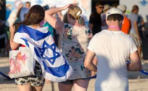 דגל ישראל (צילום: shutterstock   Lerner Vadim)