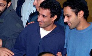 יגאל עמיר וחגי עמיר (צילום: reuters)