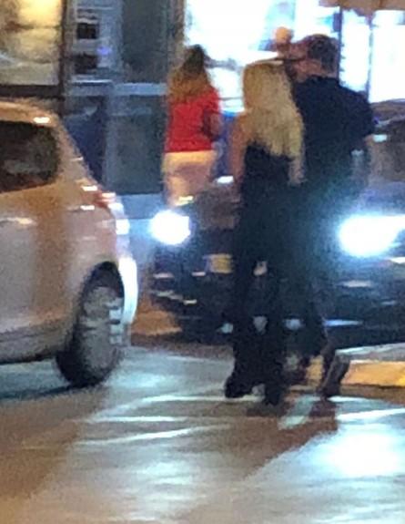 דנית גרינברג ובן הזוג החדש (צילום: ערב טוב עם גיא פינס)
