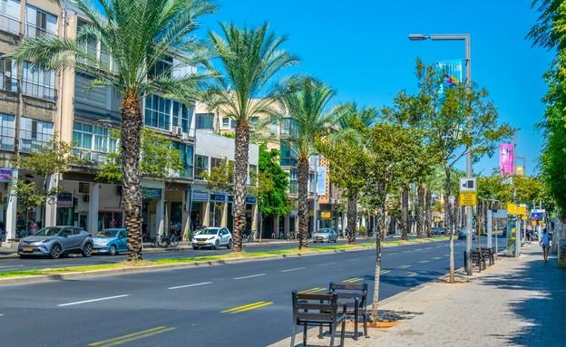 רחוב אבן גבירול בתל אביב