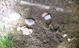 """אבנים שהושלכו על רכב מג""""ב ביצהר"""
