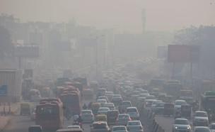 זיהום אוויר בניו דלהי  (צילום: SKY NEWS)